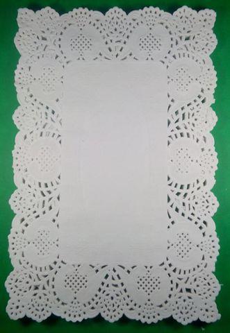 Салфетка кондитерская бумажная прямоугольная,  20*30(100шт) (1 пач)