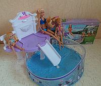Игрушечная мебель для кукол с бассейном | «Gloria»