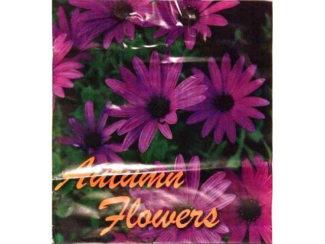 """Пакет полиэтиленовый цветной с петлевой ручкой плотный  """"Фиолетовая хризантема"""" (38х42+3) 90мк, 50 шт\пач"""