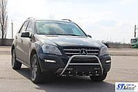 Защита переднего бампера (кенгурятник) Mercedes ML 164 (05-11), фото 1