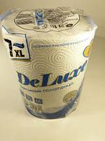 """Бумажные полотенца белые  """"Papirella"""" 7 XL deluxe BLUE-500,  1 шт/пач"""