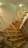 Кованые перила лестницы Л-323, фото 1