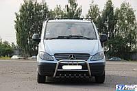 Защита переднего бампера (кенгурятник)  Mercedes Vito 2004-09, фото 1
