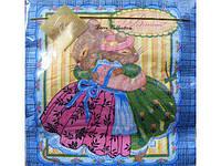 Салфетки бумажные сервировочные детские (ЗЗхЗЗ) Luxy  Поздравления от мишки, 20шт\пач