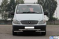 Кенгурятник Mercedes Vito 2004-09 - ус двойной