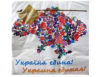 Серветки паперові трьохшарові з кольоровим малюнком (ЗЗхЗЗ, 20шт) Luxy Україна єдина (201) (1 пач.)
