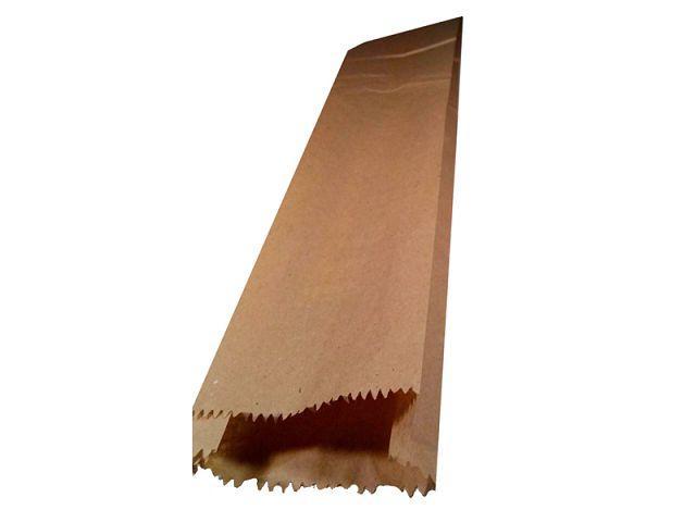 Пакет бумажный 10/4*55 коричневый (1000 шт) -  Torba Super в Харькове