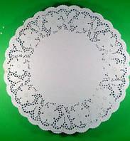 Салфетка кондитерская бумажная, диаметр 40.6 (250шт) (1 пач)