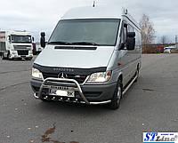 Защита переднего бампера (кенгурятник)  Mercedes Sprınter 1995-2000, фото 1