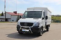 Защита переднего бампера (кенгурятник)  Mercedes  Sprinter- (14+), фото 1