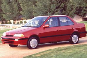 Suzuki Swift (Хетчбек, Седан) (1989-2004)