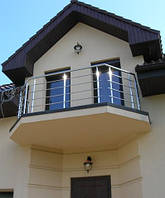 Балконы и балконные ограждения из нержавеющей стали (нержавейки)