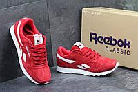 Кроссовки женские  Reebok красные с белым