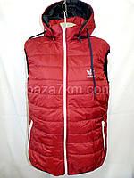 Женская жилетка на синтепоне (52-60, батал) — купить оптом по низкой цене со склада в одессе 7км