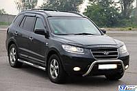 Защита переднего бампера (кенгурятник)  Hyundai Santa Fe 2006-2012, фото 1