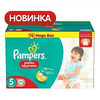 Подгузники-трусики Pampers Pants Junior 5 (12-18 кг) Mega Pack, 96 шт.