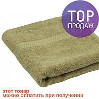 Махровое полотенце кофейное 70х140 см / товары для ванной