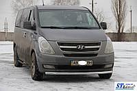 Кенгурятник Hyundai H1 (07+ - ус одинарный , фото 1