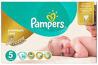 Подгузники Pampers Premium Care Dry Max Junior 5 (11-25 кг) Mega Pack 88 шт.