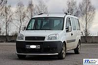 Кенгурятник Fiat Doblo (04 - 09) / ус одинарный , фото 1