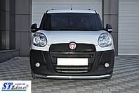 Кенгурятник Fiat Doblo (10 - 15) ус одинарный , фото 1
