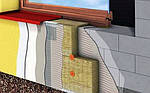 Утеплювач Rockwool Frontrock MAX E 120 мм штукатурний фасад, фото 5