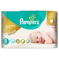 Подгузники Pampers Premium Care Dry Max Junior 5 (11-25 кг) 44 шт.