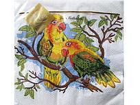 Салфетки бумажные детские с рисунком (ЗЗхЗЗ) Luxy  Попугай, 20шт\пач