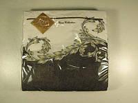 Декоративные салфетки для сервировки стола (ЗЗхЗЗ, 20шт) Luxy  Классическая волна (1 пач)