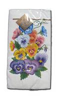 Салфетка (ЗЗхЗЗ, 10шт) Luxy MINI Анютын цветок 2001 (1 пач)