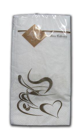 Салфетка декоративная с рисунком (ЗЗхЗЗ, 10шт) Luxy MINI Доброе утро (1 пач)
