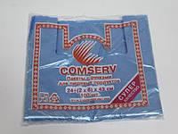Фасовочный пакет майка №24*43 Сomserv(100шт)