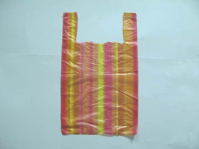 "Пакеты майка с рисунком (30х50) ""Комсерв"" Полоса (250 шт)"