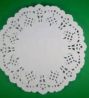 Салфетки под чашку (коастер), диаметр 14см, 100шт\пач