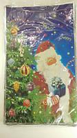Новогодние пакеты для конфет и подарков (30*50) №7, 100 шт\пач
