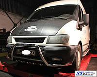 Защита переднего бампера (кенгурятник) Ford Transit (00 - 06)