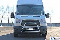 Защита переднего бампера (кенгурятник) Ford Transit  (15+), фото 1