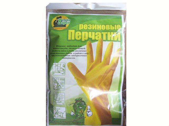 """Резиновые перчатки """"Супер торба"""" р.M (1 пач) -  Torba Super в Харькове"""