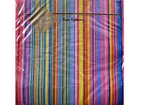 Салфетки для детского Дня Рождения (ЗЗхЗЗ) Luxy  Яскрава Смужка, 20шт\пач