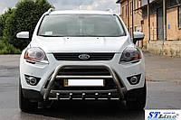 Защита переднего бампера (кенгурятник) Ford Kuga (08 - 12), фото 1