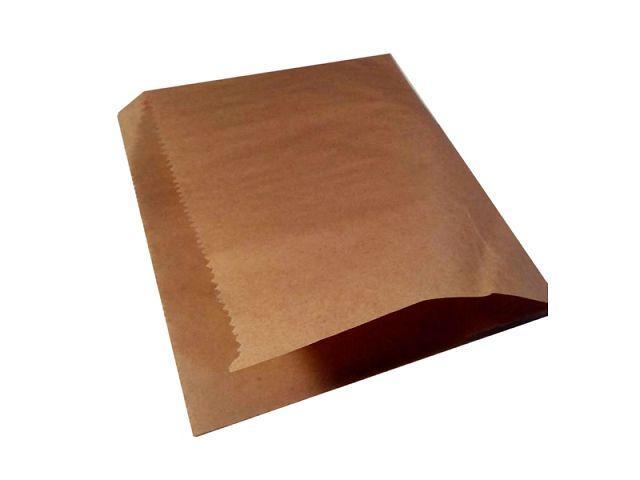 Бумажные пакеты уголок для бургера, 17см*17см, коричневый, 2000 шт\уп