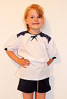 Красивая детская блуза-туника, размеры 128-158