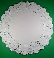 Салфетка кондитерская бумажная, диаметр 38 (100шт) (1 пач)