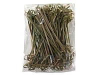 Шпажки-палочки бамбуковые с узелком 10см,100 шт (1 пач)