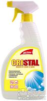 """Средство чист. для чистки окон """"Кристалл"""" 500мл с расп. желт."""
