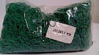 "Резинка для вязки зелени №15 ( зеленая )1 кг ""Plast"" (1 пач)"