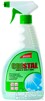 "Средство чист. для чистки окон ""Кристалл"" 500мл с расп. зелен."