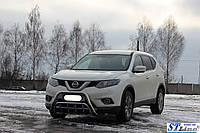 Защита переднего бампера (кенгурятник)  Nissan X-Trail T32 (13+)