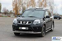 Кенгурятник Nissan X-Trail T31 (07-14) - ус двойной