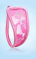 C-стринги ажурные розовые